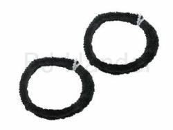 Nabenputzringe Motorrad dunkelblau Set 2x 76cm  - Bild vergrößern