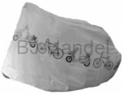 Abdeckplane Schutzhülle Moped Garage Fahrradabdeckung 210x110x80 Grau - Bild vergrößern