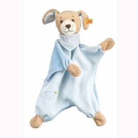Schmusetuch Steiff Gute Nacht Hund blau - Bild vergrößern