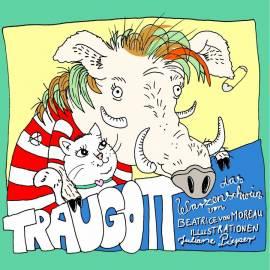 Traugott, das Warzenschwein - Hörspiel mit Minibilderbuch - Bild vergrößern