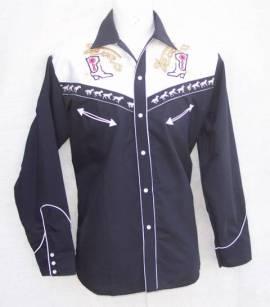 Westernhemd, Shirt, Cowboy, Rodeo, Trucker, Western / 03 - Bild vergrößern