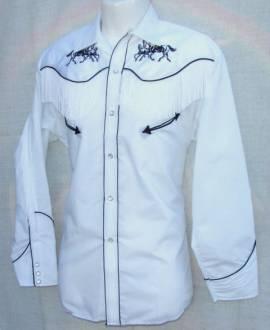 Westernhemd, Shirt, Cowboy, Rodeo, Trucker, Western / 08 - Bild vergrößern