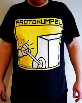T-Shirt -AUTOMATENKASINO-, schwarz - Bild vergrößern