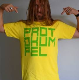 T-Shirt -POP-, gelb - Bild vergrößern