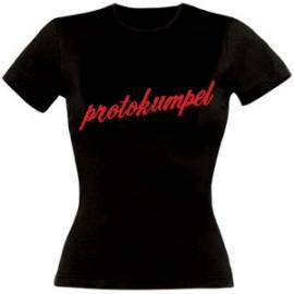 Girlie-Shirt, Motiv -protokumpel- - Bild vergrößern