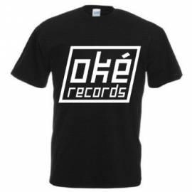 T-Shirt -oké records-, schwarz - Bild vergrößern
