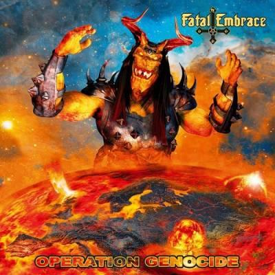 FATAL EMBRACE - LP -Operation Genocide- (2019) - Bild vergrößern