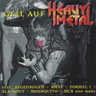 diverse  - CD -Geil auf Heavy Metal- (1996) - Bild vergrößern