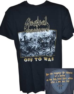 MUSICAL MASSACRE - Shirt Off To War L - Produktbild