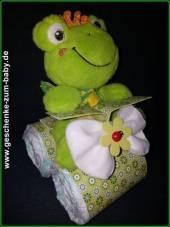 Windelmotorrad mit Froschkönig