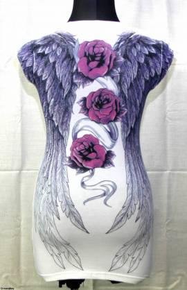 roses-white-scull - Bild vergrößern
