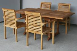 Teak Garnitur Landhaus Magic 4