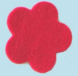 Filz 3mm rot