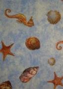 Deko Stoff Maritim blau