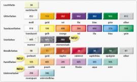 Fimo effect Metallicfarben Modelliermasse 56 g rubinrot