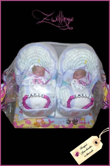 Windelwagen Zwillinge