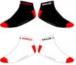 Hallzig Socken in weiß