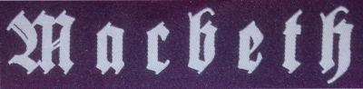 MACBETH - Patch Schriftzug