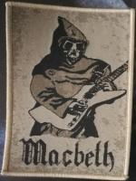 MACBETH - Patch -Zeit der Zeiten- (cremefarbener Rand)