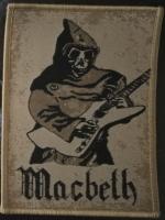 MACBETH - Patch -Zeit der Zeiten- (ockerfarbener Rand)