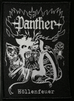 PANTHER - Patch CD-Cover (schwarzer Rand)
