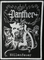 PANTHER - Patch CD-Cover (weißer Rand)