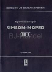 Reparaturanleitung für Simson Moped SR1