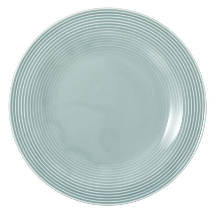 Frühstücksteller rund 23 cm Arktisblau