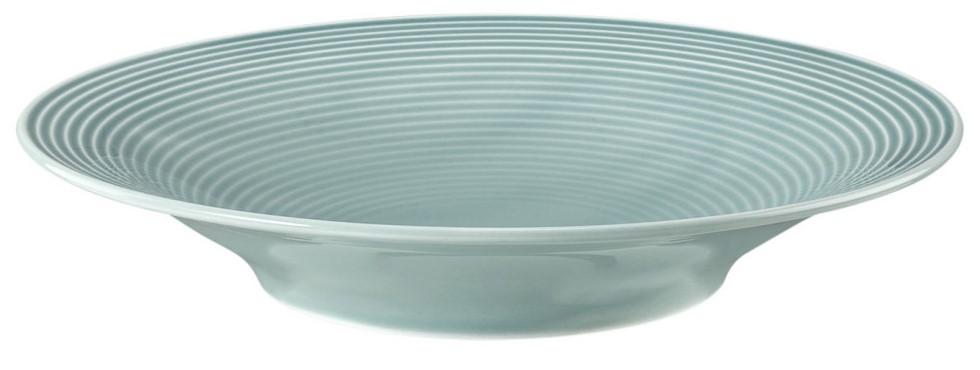 Suppenteller rund 22,5 cm Arktisblau