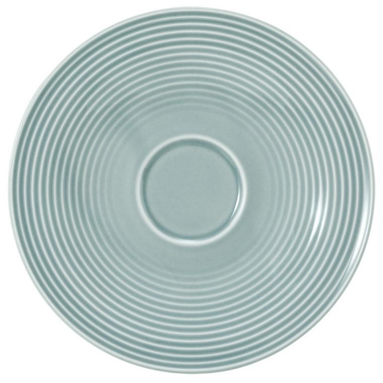 Kombi-Untertasse groß 16,5 cm Arktisblau