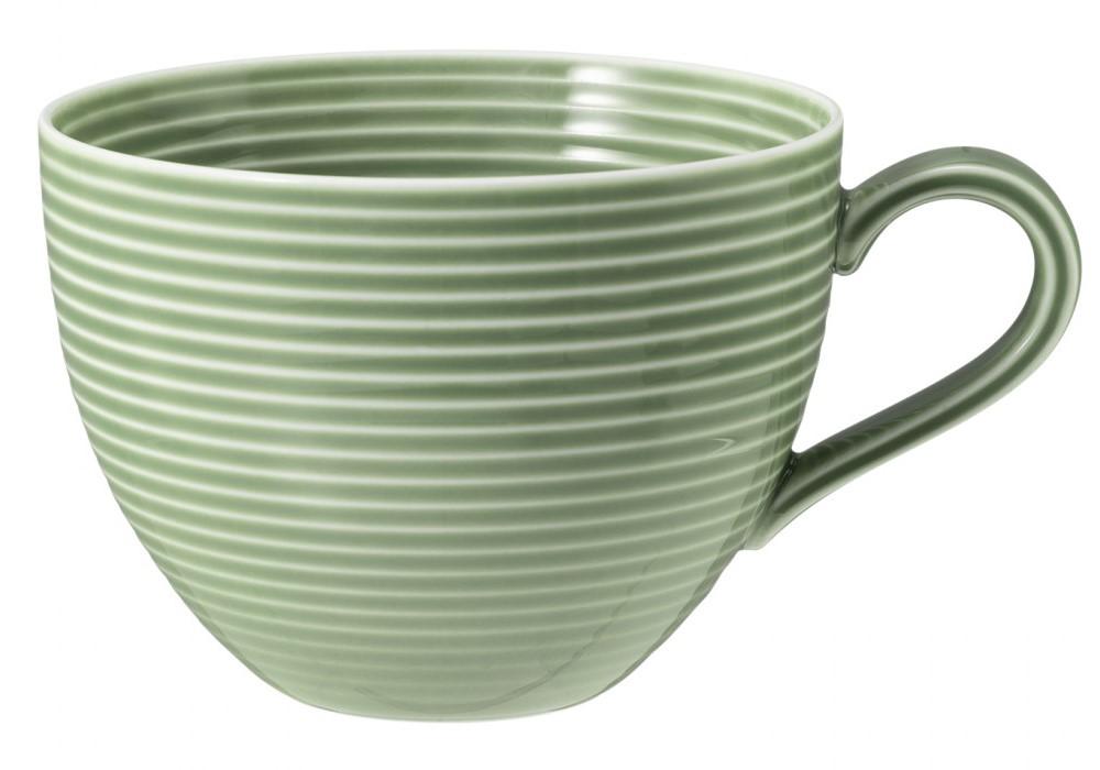 Milchkaffeeobertasse 0,35 l Salbeigrün