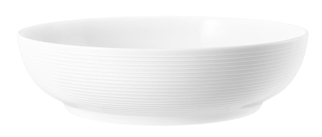 Foodbowl 25 cm weiß