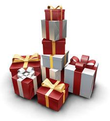 Verpacken als Geschenk