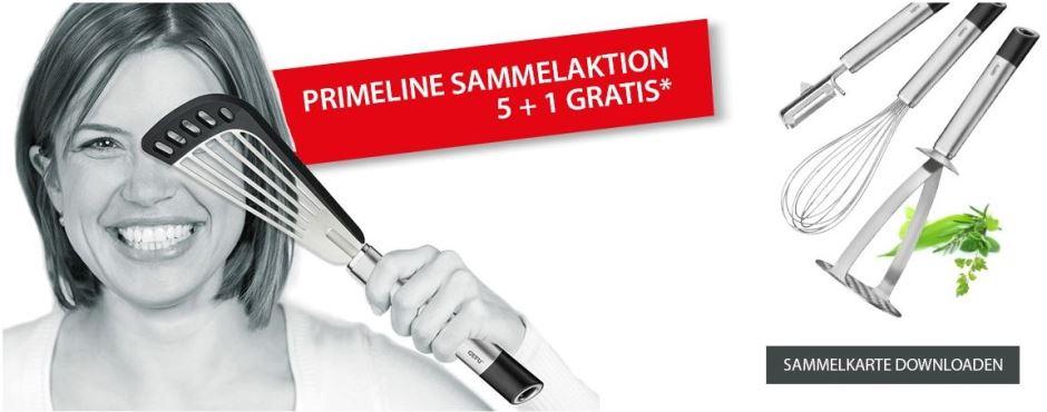 PRIMELINE Sammelaktion (5 + 1 Gratis)*